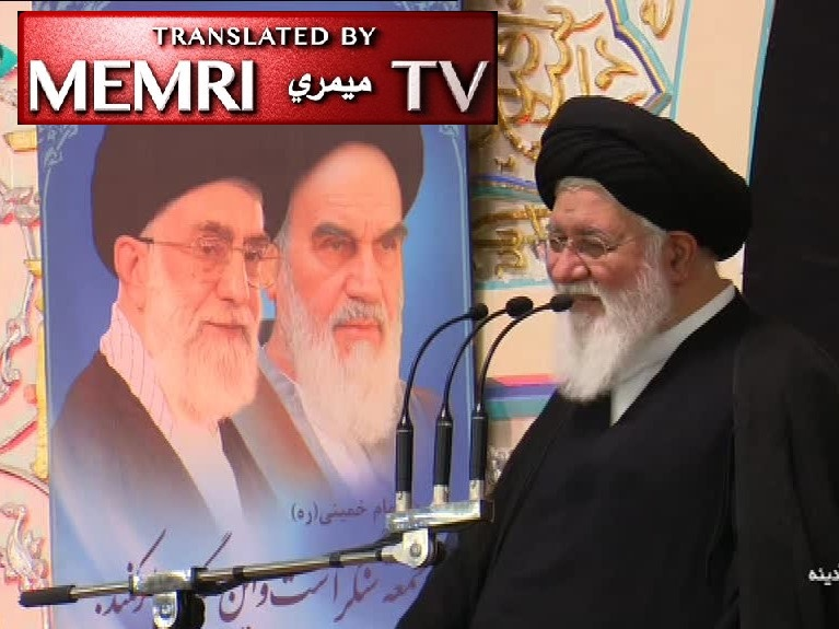 Mashhad Friday Sermon by Ayatollah Ahmad Alamolhoda: The PMU, Hizbullah, Ansar Allah, Hamas, Islamic Jihad, Are All Iran; We Can Destroy Israel in Half a Day